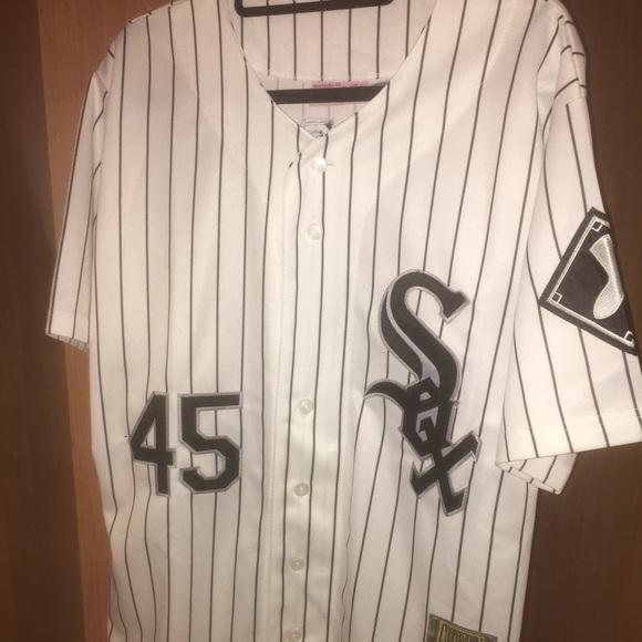 sale retailer c9fce 53499 Men's Michael Jordan 45 Baseball SOX Jersey